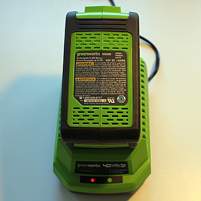 Greenworks Cultivator Battery Charger