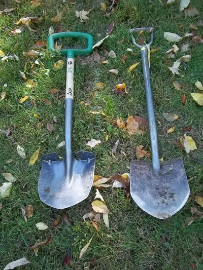 vs traditional shovel