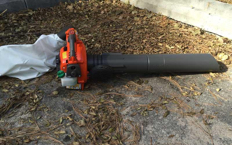 Husqvarna-as-vacuum-mulcher