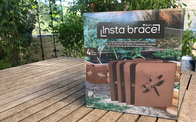 Instabrace box on patio