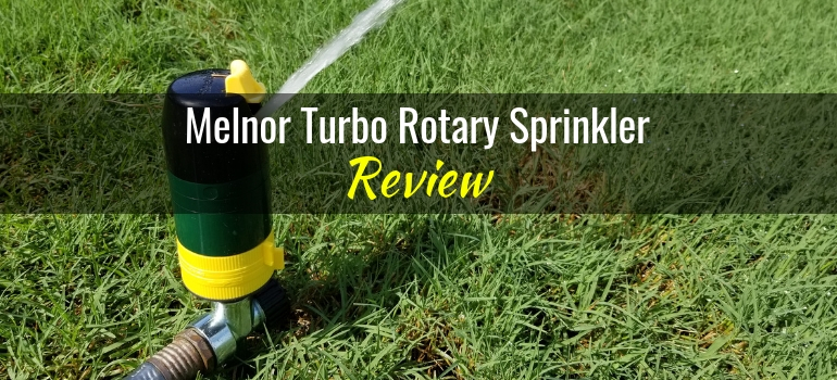 Melnor Turbo Rotary Sprinkler Featured Image
