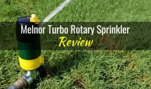 Melnor Turbo Rotary Sprinkler: Product Review