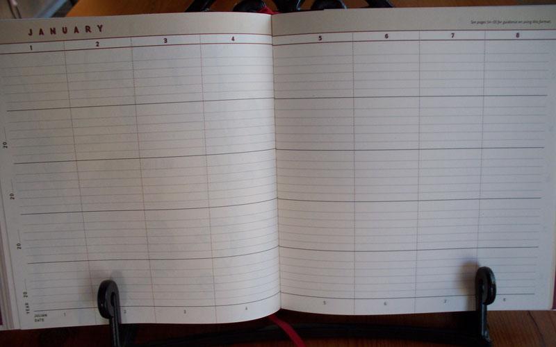 Naturalists Notebook Calendar Journal