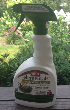 Ortho Elementals Law is a convenient spray bottle