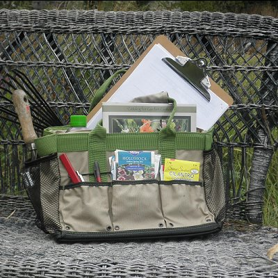 Puddle-Proof Field Bag fully loaded