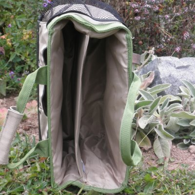 Compartments on Puddle-Proof Field Bag