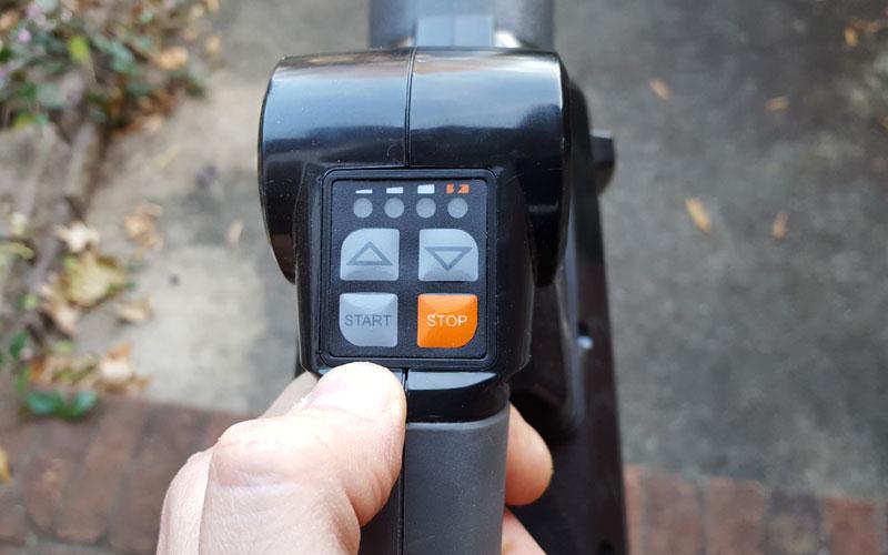 Redback 120V Blower easy controls