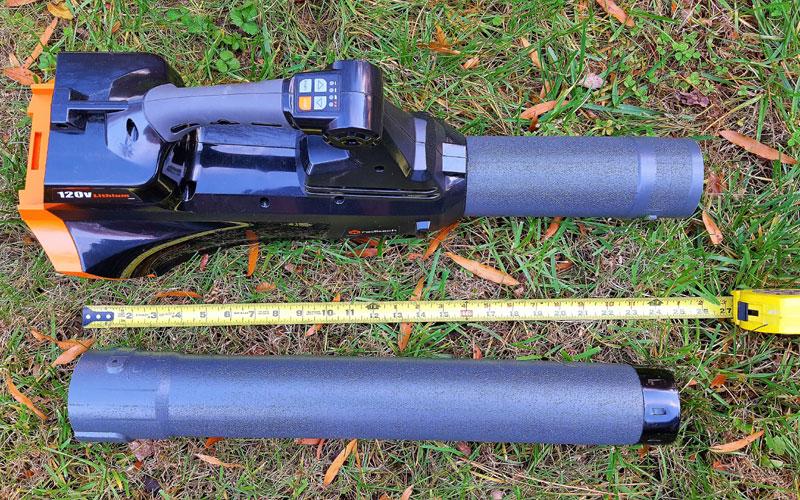 Redback 120V Blower tube detached