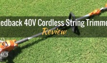 Redback 40V Lithium Ion Cordless String Trimmer/Edger (106065): Product Review