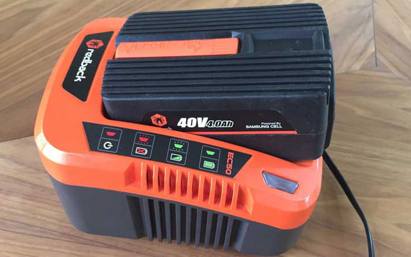 Redback 40V Lithium Ion Mower E137C Battery Charger
