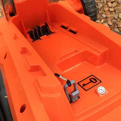 Redback 40V Lithium Ion Mower E137C Safety Key