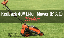 Redback 40V Lithium-Ion 16″ Cordless Mower: Product Review
