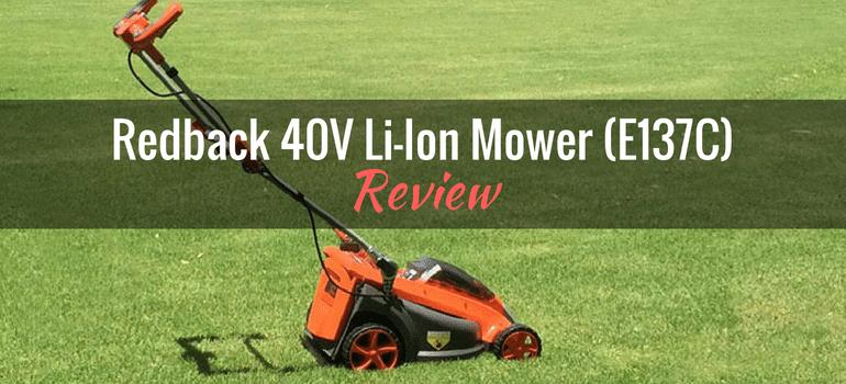 Redback 40V Lithium Ion Mower E137C