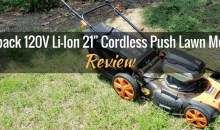 "Redback 120V Lithium-Ion 21"" Cordless Push Lawn Mower: Review"