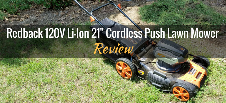 Redback Cordless Push mower Featured Image