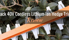 Redback (E522D) 40V Cordless Lithium-Ion Hedge Trimmer: Product Review