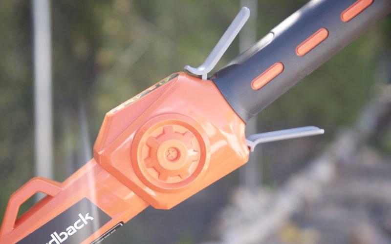 Redback Pole Pruner safety and throttle