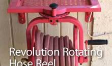 Revolution Rotating Hose Reel (Model #713): Product Review