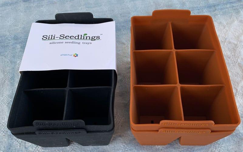 packaging on Sili-Seedlings seed starting trays