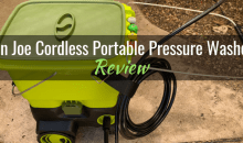 Sun Joe® Cordless Go-Anywhere Portable Pressure Washer (SPX6001C): Product Review