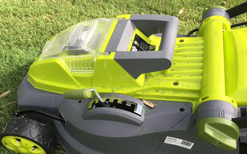 SunJoe Cordless Lawn Mower Lift Handle