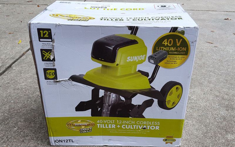 Sun joe Cultivator the small box made me smirk again 3