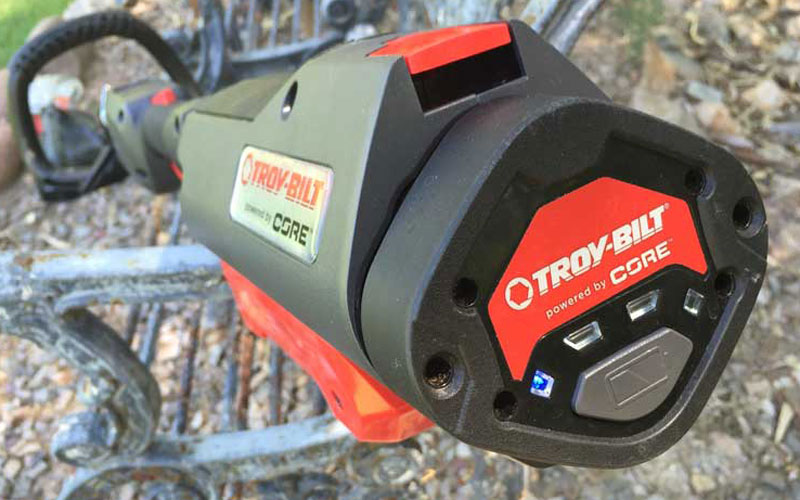 Troy-Bilt TB4200 String Trimmer Battery Indicator