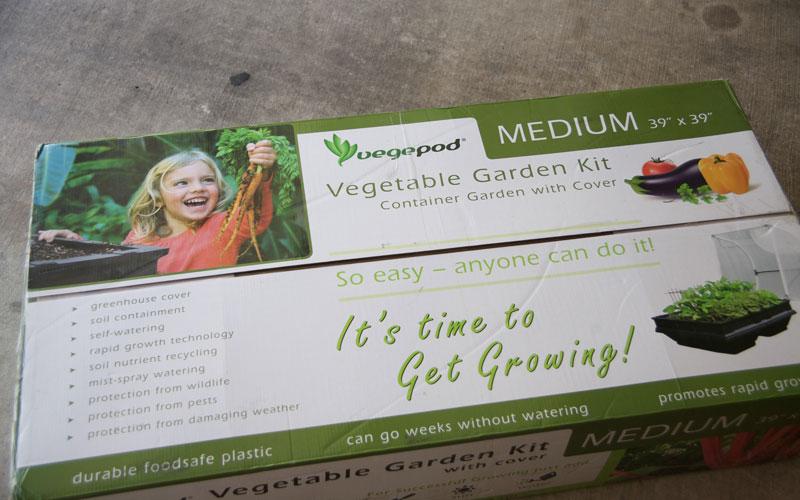 Vegepod packaging