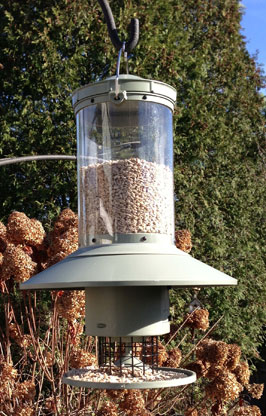 A large bird feeder from Wingscapes