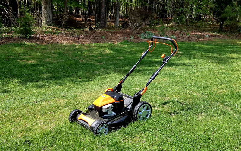 yard force 120v mower