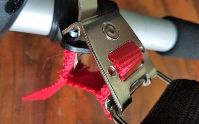 Yard-Force-120v-string-trimmer-harness-attached