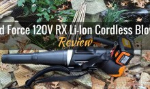Yard Force 120V RX Lithium-Ion Cordless Blower: Product Review