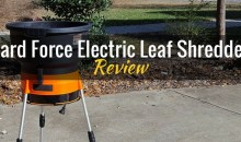 Yard Force Electric Leaf Shredder (YF8000): Product Review