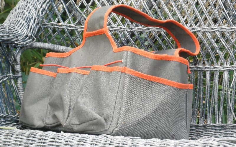 Lots of pockets on Gardener's Tool Tote