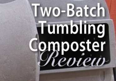 Two-Batch Tumbling Composter