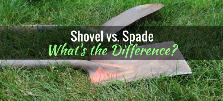 Shovel vs Spade - What's the difference?