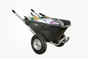 Lifetime Two-Wheeled Wheelbarrow