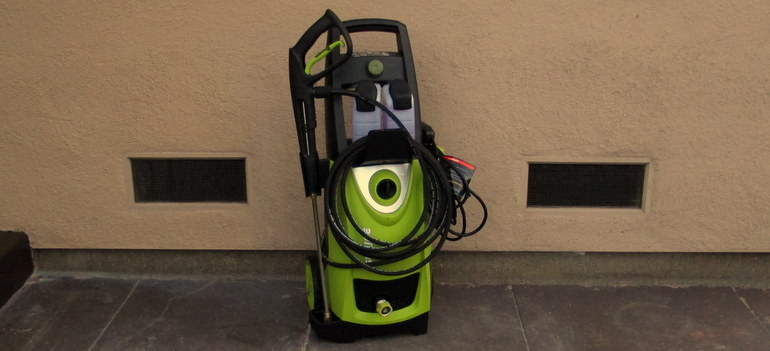 Sun Joe electric pressure washer