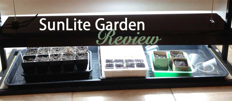 SunLite Garden indoor seed light review