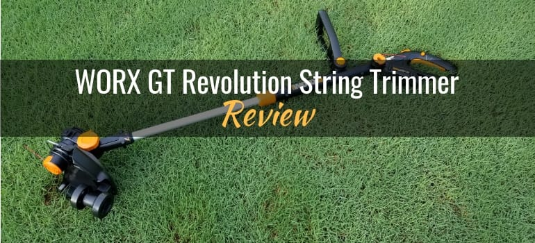 WORX GT Revolution string trimmer review