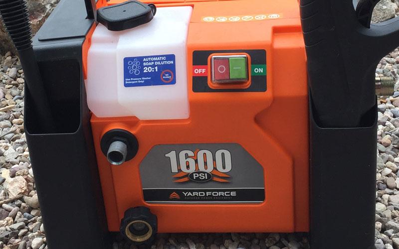 Yard Force Pressure Washer storage bins