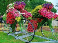 18 Mind-Blowing Bicycle Planter Ideas For Your Garden or ...