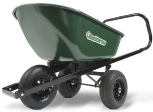 Wheelzbarrow Three Tire Wheelbarrow