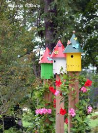 DIY Colorful Garden Dcor Ideas - Gardening Viral