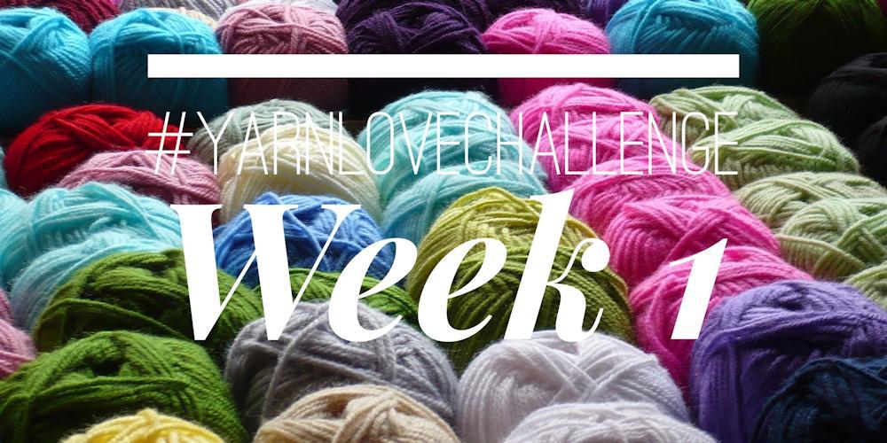 #yarnlovechallenge week 1