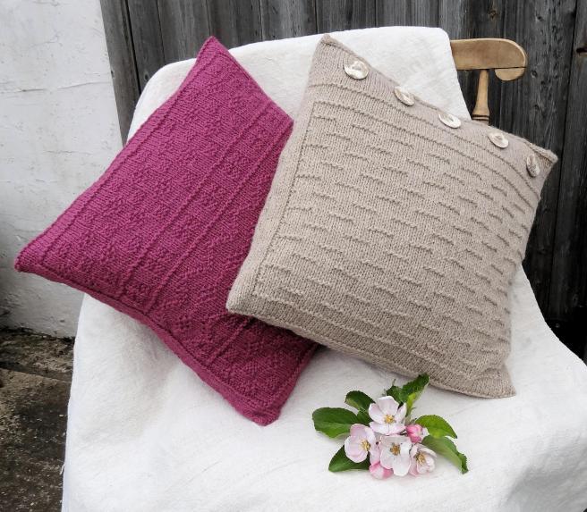 Gansey Style Cushion Cover