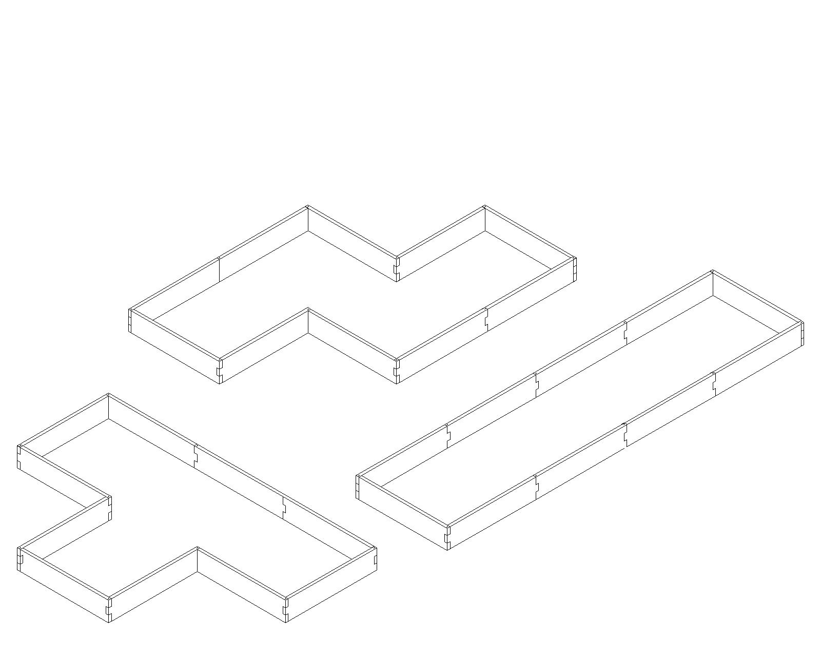 hight resolution of alternate layouts since our garden beds are a modular design our l shaped raised