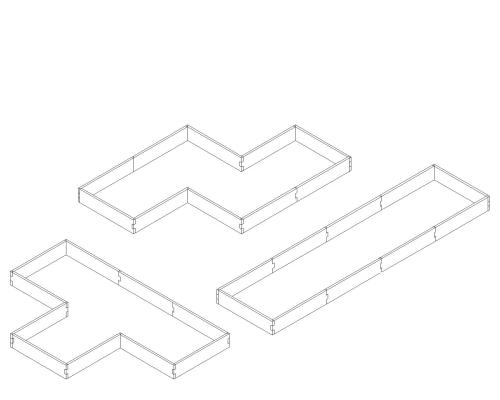 small resolution of alternate layouts since our garden beds are a modular design our l shaped raised