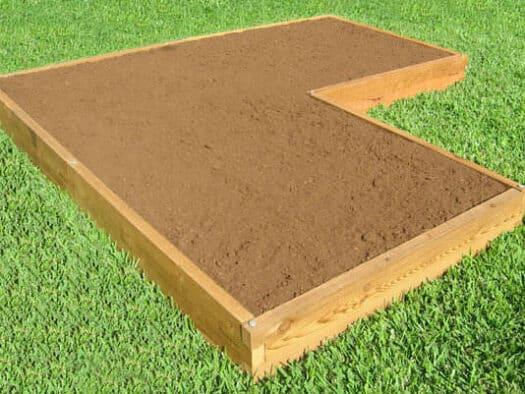 u shaped raised garden bed tool free