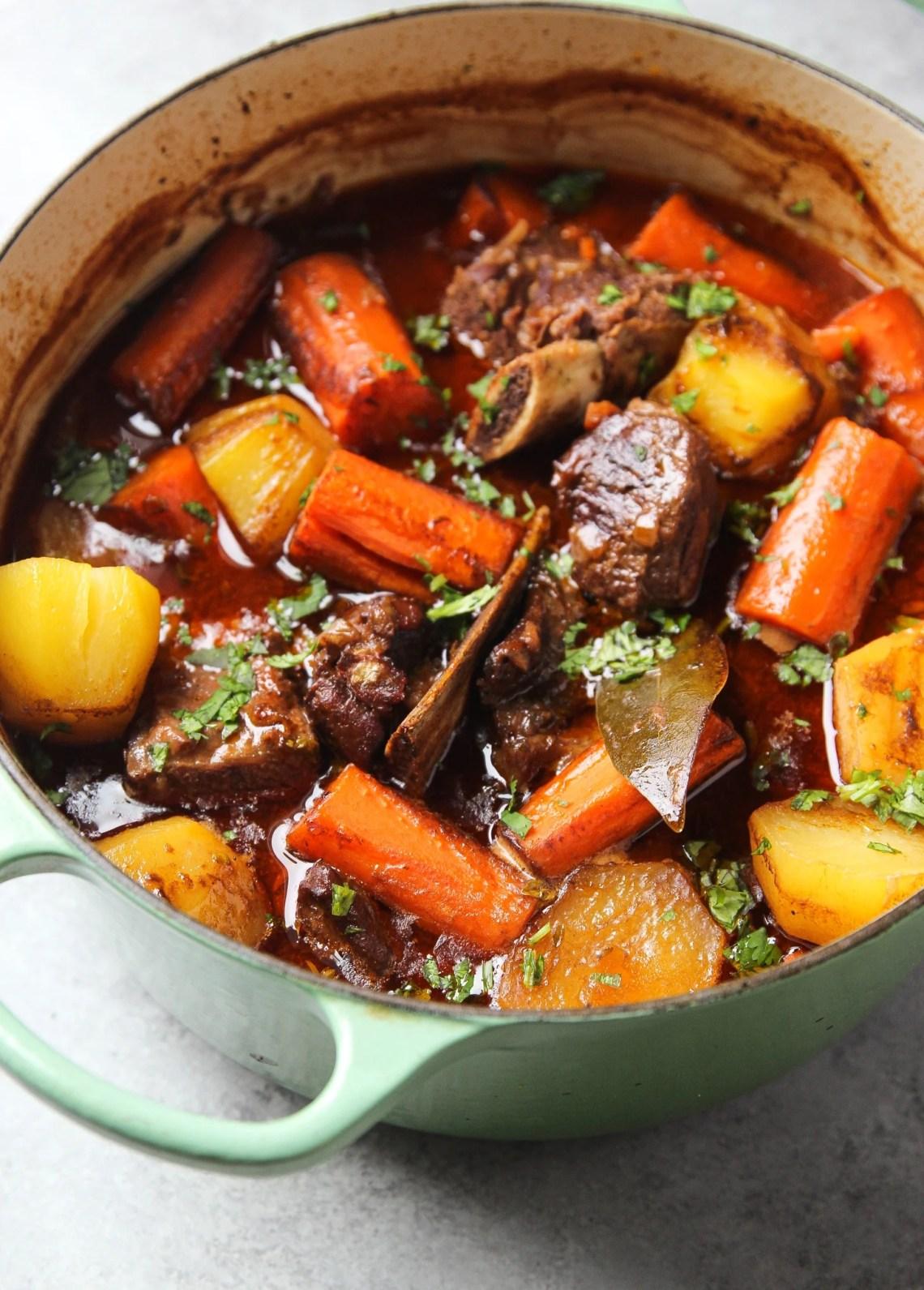 Hearty Dutch Oven Beef Stew | Garden in the Kitchen